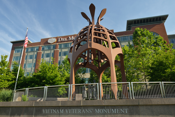Vietnam Veterans' Monument in Pittsburgh