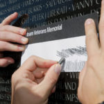 Vietnam Wall Rubbing